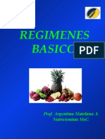 Regimenes basicos