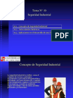 Tema 10 Seguridad Industrial