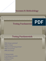 Testing Processes Methodology - Modified by Achal