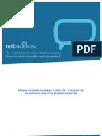 Primer informe del perfil del paciente de esclerosis múltiple en redpacientes