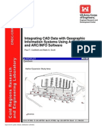 Integrating CAD Data With GIS