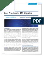Best Practices in SAN Migration