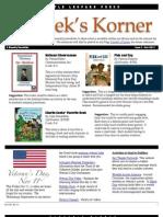 Kordek's Korner Nov 10, 2011