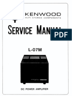 Kenwood L-07m Service