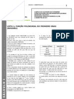 55894-Lista_1_-_Cálculo_I_-_Função_Polinomial_do_Primeiro_Grau_-_2_Semestre_-_2011