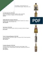 Calificacion de Tequilas