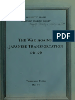 USSBS Report 54, The War Against Japanese Transportation, 1941-45