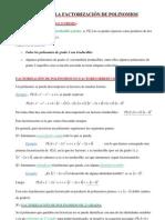 05 REPASO DE LA FACTORIZACIÓN DE POLINOMIOS.TEORÍA Y EJERCICIOS CON SOLUCIÓN