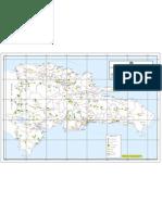 Mapa República Dominicana Provincias reforestadas Mes de la Reforestación Plan Quisquella Verde