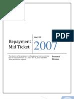 Midticket Repayment