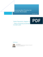 Faster Payments Happier Customers e Invoicing Best Practice for Accounts Receivable