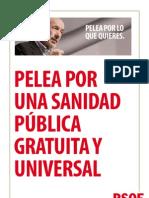 UNA SANIDAD PÚBLICA GRATUITA Y UNIVERSAL DEF