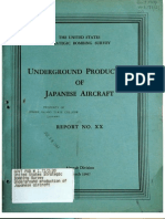 USSBS Report 35, Underground Production of Japanese Aircraft