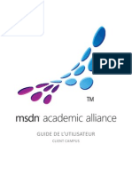 Guide Utilisateur MSDNAA Campus