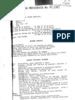 Protocolo de Necropsia No 97-1967 (Juan Alfonso Valer Sandoval)