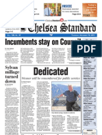 Chelsea Standard Front Page