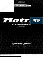 MATRIX Pre Intermediate Work Book 1[1]