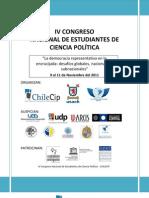 IV° Congreso - Cronograma y nueva sede - Viernes 11/11