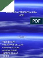 ASISTENCIA PREHOSPITALARIA (APH)