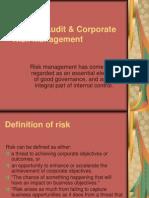 Internal Audit Corporate Risk Management