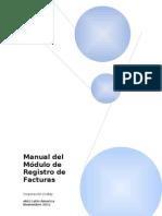 Manual Proveedor Pre registro de Facturas - Corporación Lindley