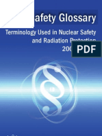 IAEA Safety Glossary 2007