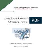 Injeção de Combustível Em Motores Ciclo Otto