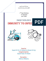 Immunity to Infections