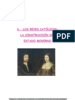 Unidad 6.- Los Reyes Católicos la construcción del Estado moderno