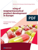 Financing Biopharma Product Dev En