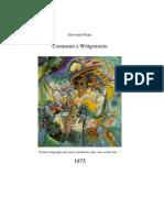 Piana G., Commenti a Wittgenstein