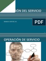 4. OPERACIÓN DEL SERVICIO