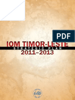 Timor Strategic Plan