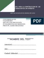 02_Elementos y Pasos para la construcción de un Test