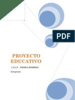 Proyecto Educativo Sierra Bermeja