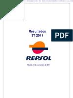 Informe de Resultados Repsol 3T 2011