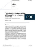 Http Temporalites.revues