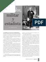 Morelos, Militar y Estadista