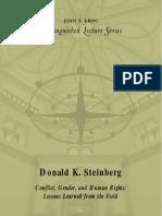 Donald K. Steinberg