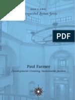 Paul Farmer -- Development