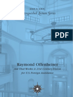 Raymond Offensheiser -- Aid That Works