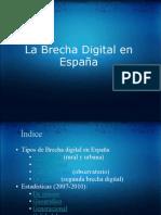 Los tipos de brecha digital en España