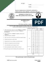 SPM Percubaan 2008 Melaka Mathematics Paper 2
