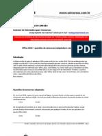 Office 2010 - questões de concursos comentadas - www.informaticadeconcursos.com.br (loja virtual)