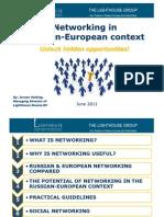 Networking in Russian European Context June 2011