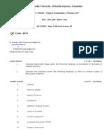 Anat Paper 2 Rs 2 07 Feb