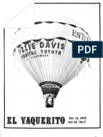 Story on a balloonist in Livermore, Calif. 1978