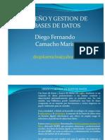 DISEÑO Y GESTION DE BASES DE DATOS