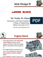 Engine Design -Block
