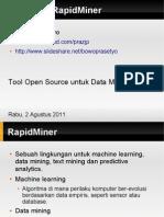 Mengenal RapidMiner
